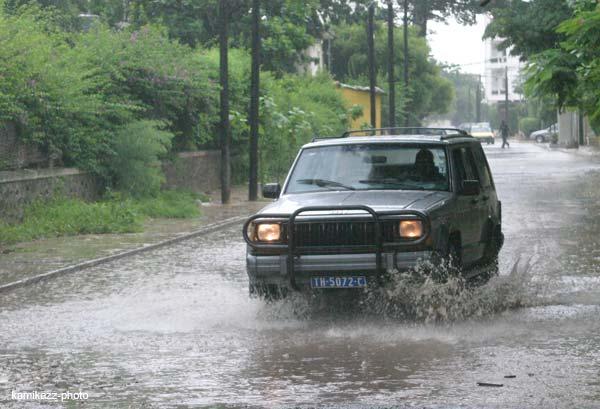 inondations sur dakar